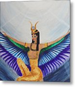 Isis Wings Metal Print