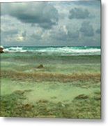 Isla De Mujeras North Shore Metal Print