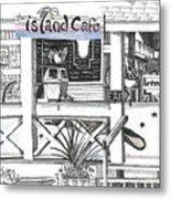 Island Cafe Metal Print