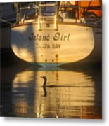 Island Girl Metal Print