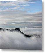 Island In The Clouds Metal Print