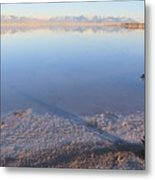 Island In The Desert 3 Metal Print