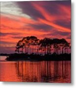 Island In The Fire Metal Print