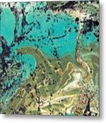 Island Lagoon Metal Print