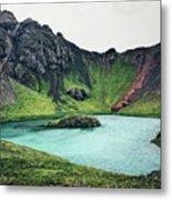 Island Lake Metal Print