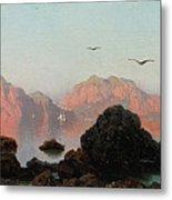 Island Of Capri Metal Print