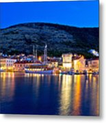 Island Of Vis Evening View Metal Print