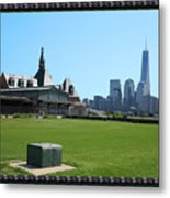 Island Park Elise Museaum Of American Immigration Journey Trip To Newyork Travel Zone America Photog Metal Print