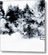 Island Park Idaho - Beyond The Gate Metal Print