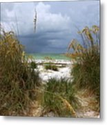 Island Trail Out To The Beach Metal Print