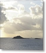 Islands Like Camels Crossing A Watery Desert  Metal Print