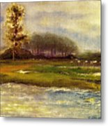 Islands On The River Metal Print