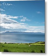 Isle Of Arran Under Cloud Metal Print