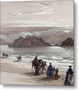 Isle Of Graia Gulf Of Akabah Arabia Petraea Feby 27th 1839 Metal Print