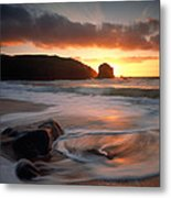 Isle Of Lewis Outer Hebrides Scotland Metal Print