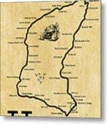 Isle Of Man Tt Metal Print