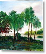 Isle Of Palms Metal Print by Phil Burton