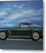 Iso Grifo Gl 1963 Painting Metal Print
