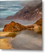 Isolated Cove Metal Print