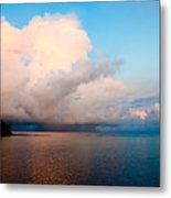 Isolated Isolated Shower Metal Print
