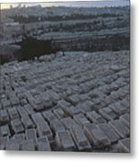 Israel, Jerusalem Mount Of Olives Metal Print
