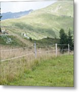 Isskogel Mountain Peak  Metal Print
