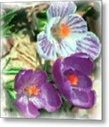 Ist Flowers In The Garden 2010 Metal Print