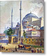 Istanbul Metal Print
