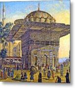 Istanbul Outdoor Bazaar Metal Print