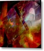It Is About Time Intersecting Depth Of Heart Metal Print