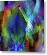 It Is About Time Intersecting Wondrous Cross Metal Print