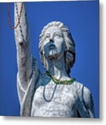 It Is All About The Beads-nola Metal Print