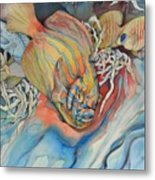 It Is Sunny Down There Metal Print