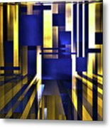 Where The Light Exists Metal Print