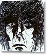 It Takes A Worried Man Metal Print by Judith Redman