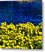 It Was All Yellow... Metal Print