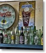 It Was Time For A Drink Metal Print