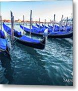 Italian Blue Metal Print
