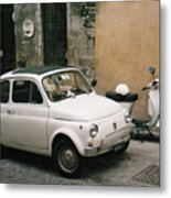 Italian Classic Commute  Metal Print