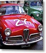 Italian Classics Alfa Romeo Metal Print