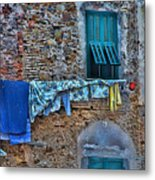 Italian Clothes Dryer Metal Print