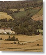 Italian Farmhouse Metal Print