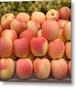 Italian Fruit Display Metal Print