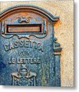 Italian Mailbox Metal Print