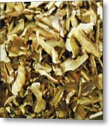Italian Market Dried Mushrooms Metal Print