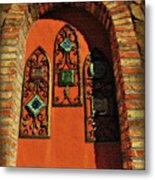 Italian Window Metal Print