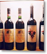 Italian Wines Metal Print
