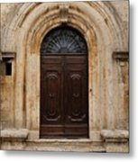 Italy - Door Eighteen Metal Print