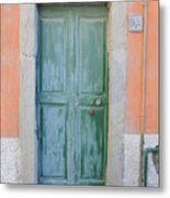 Italy - Door Five Metal Print