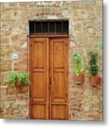 Italy - Door Six Metal Print